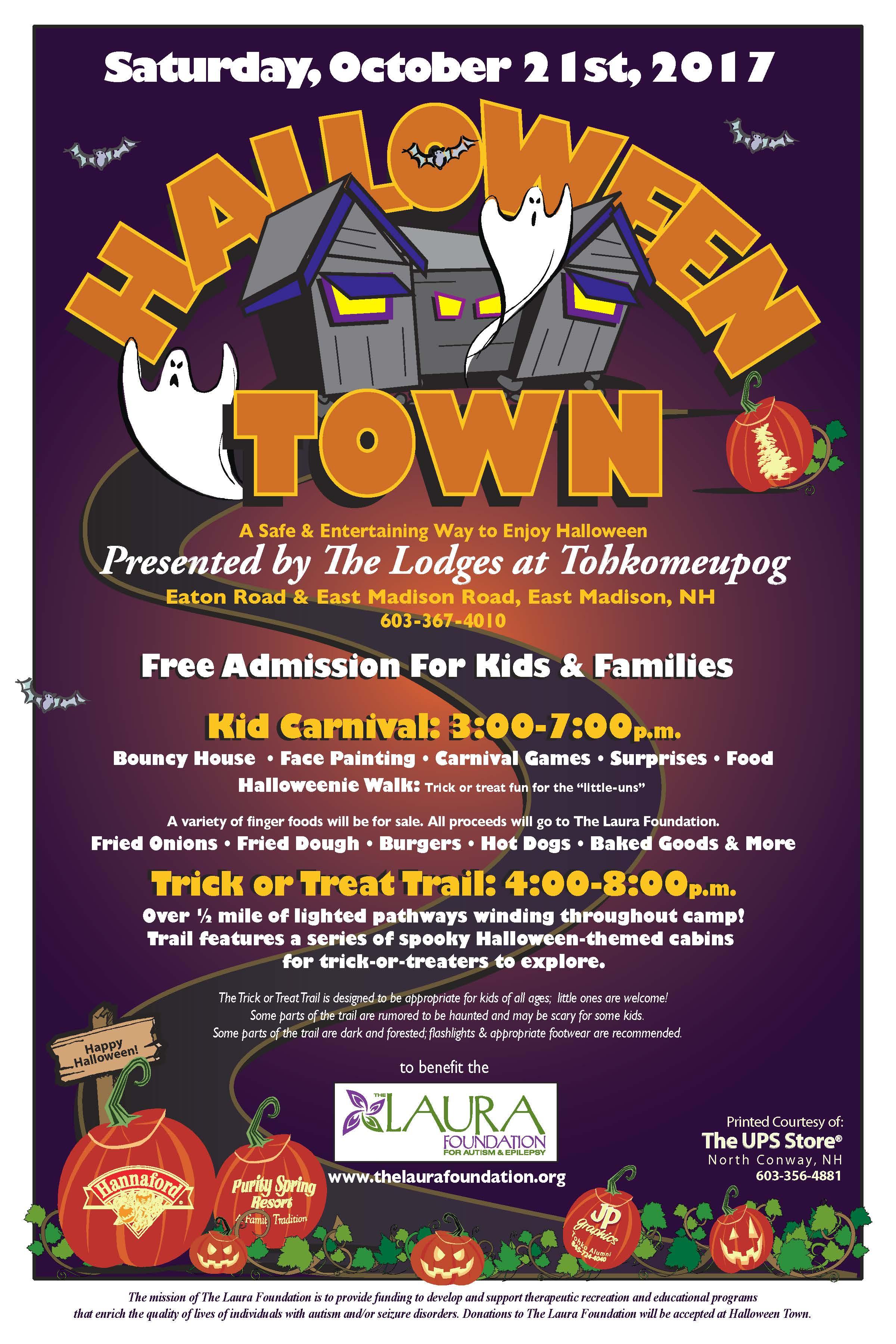 halloween town a safe u0026 entertaining way to enjoy halloween